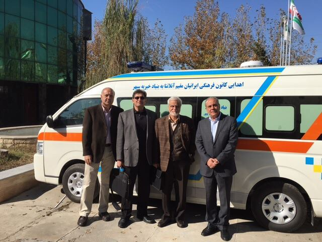 PCC donated 2 ambulances to BAM