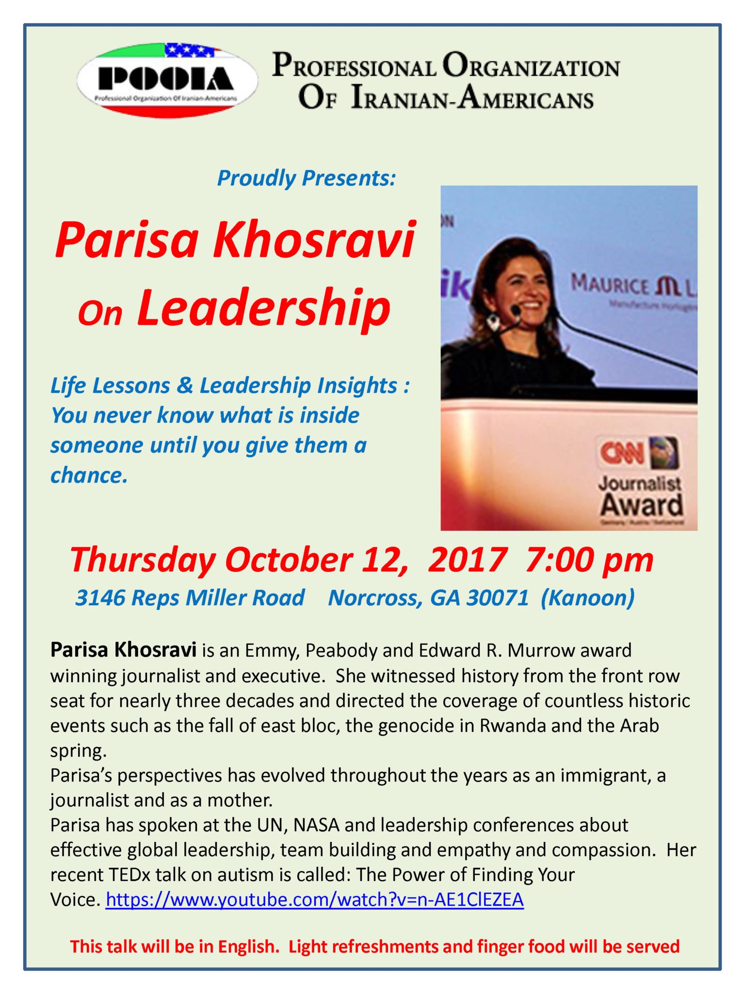 Parisa Khosravi on Leadership